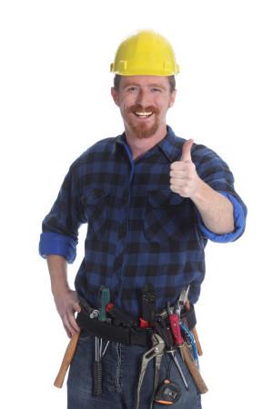 pracownik budowy